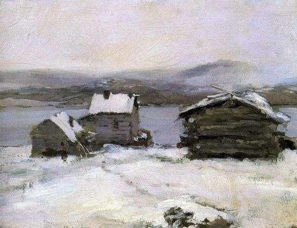 ラップランドの冬   Konstantin Korovin