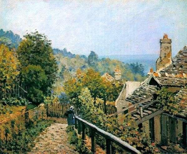 Louviesen   Alfred Sisleyの庭の小道