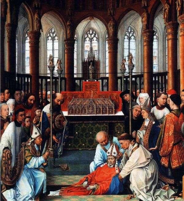 セントヒューバートの遺跡を探す   Rogier van der Weyden