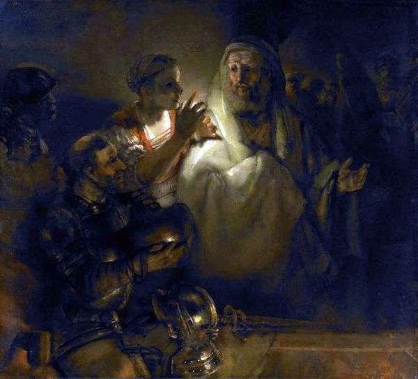 使徒ペテロの放棄   レンブラントハーメンスヴァンライン