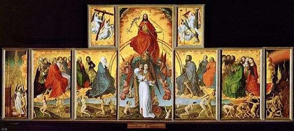 最後の審判ポリプティク   Rogier van der Weyden