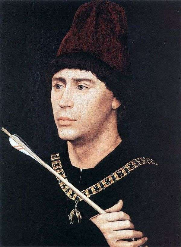 ブルゴーニュのアントワーヌの肖像   Rogier van der Weyden