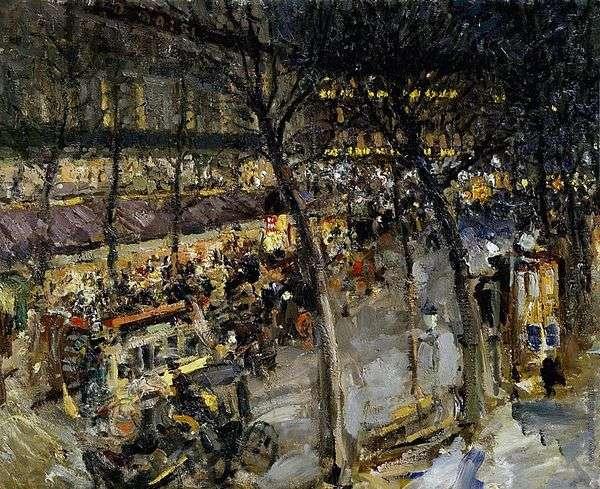 パリ Cafe de la Paix   コンスタンティンコロビン