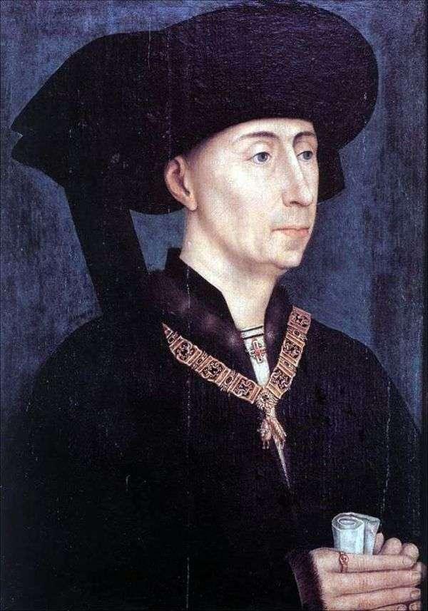 Philip the Goodの肖像   ロジェ・ファン・デル・ヴァイデン