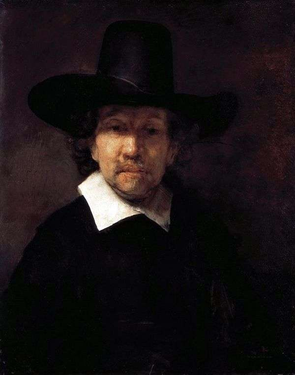 エレミヤデッカー   レンブラントハーメンスヴァンラインの肖像