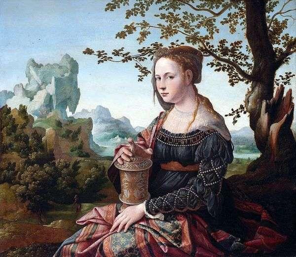 Mary Magdalene   Jan van Corel