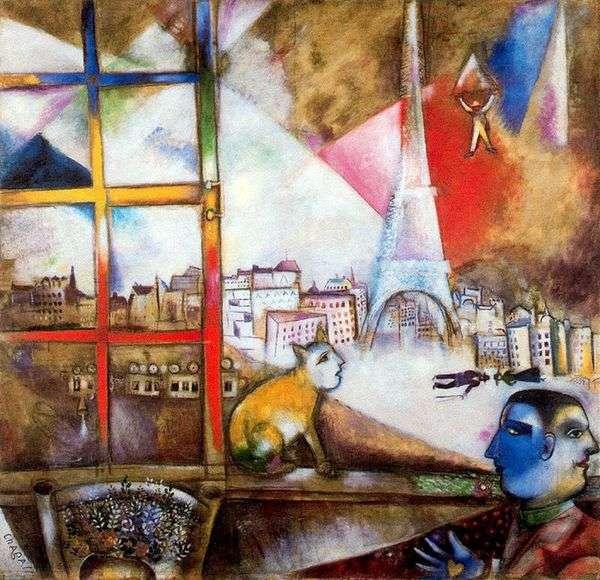 パリの窓から   Marc Chagall