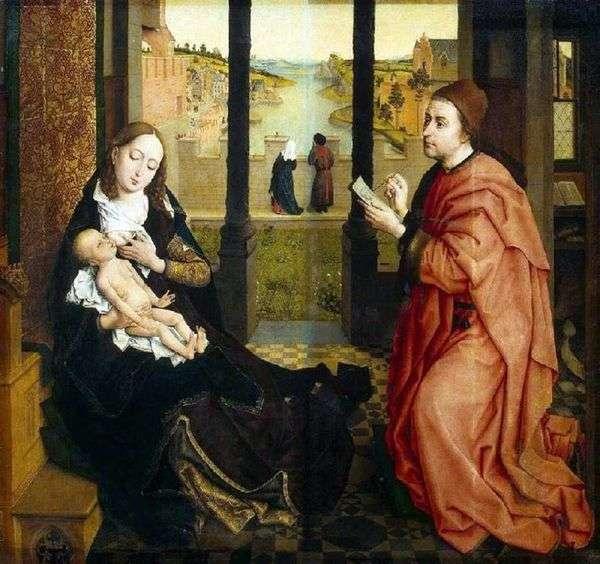聖ルカ、絵画マドンナ   ロジェファンデルヴェイデン