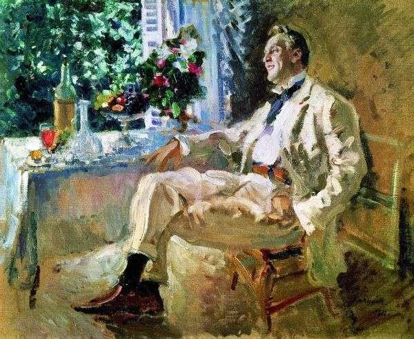 Chaliapin   Konstantin Korovinの肖像画