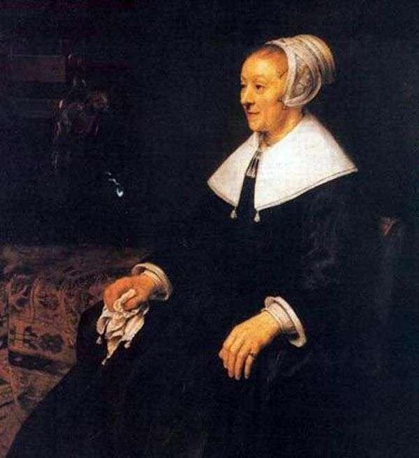 カトリーナ・フーガット   レンブラント・ハーメンス・ヴァン・ラインの肖像