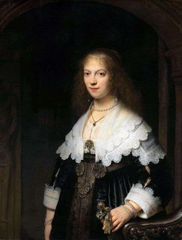 Maria Trip   レンブラント・ハーメンス・ヴァン・ラインの肖像