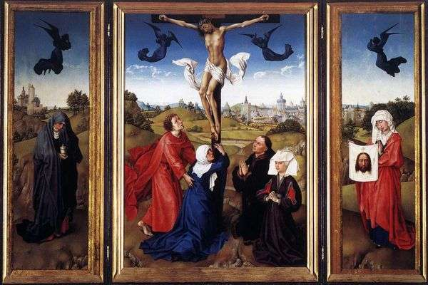 トリプティク「はりつけ」   Rogier van der Weyden