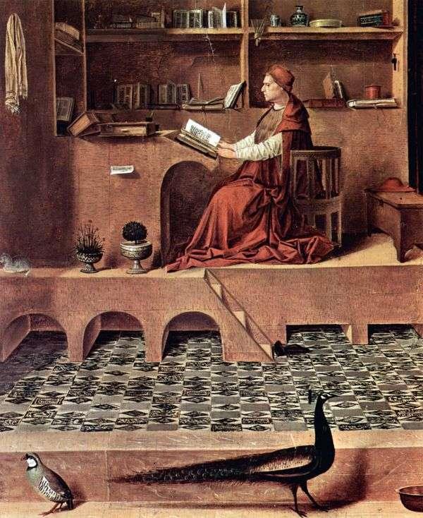 セントジェロームインセル   Antonello da Messina