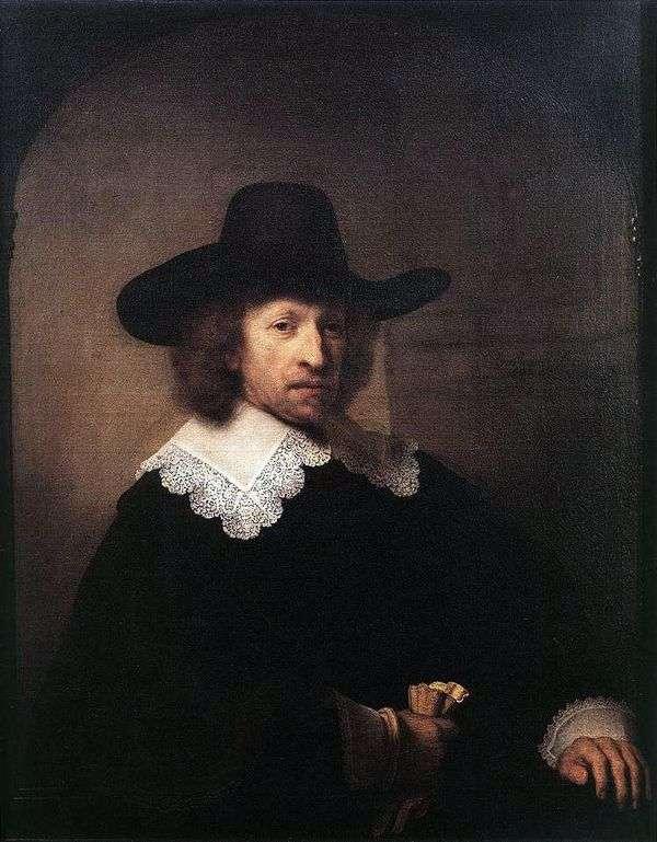 Nicholas Van Bambek   レンブラントハーメンスヴァンラインの肖像