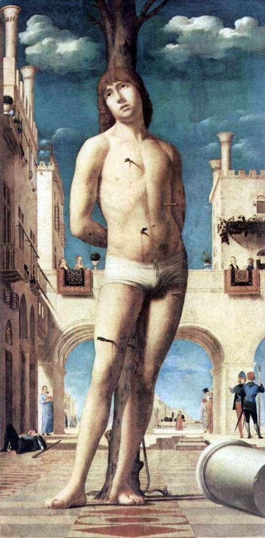 聖セバスチャン   アントネッロ・ダ・メッシーナ