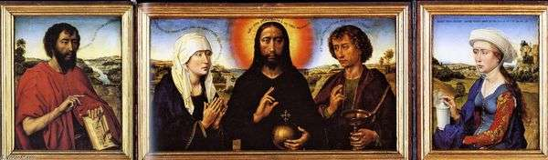 Triptych Braque   ロジェファンデルヴェイデン