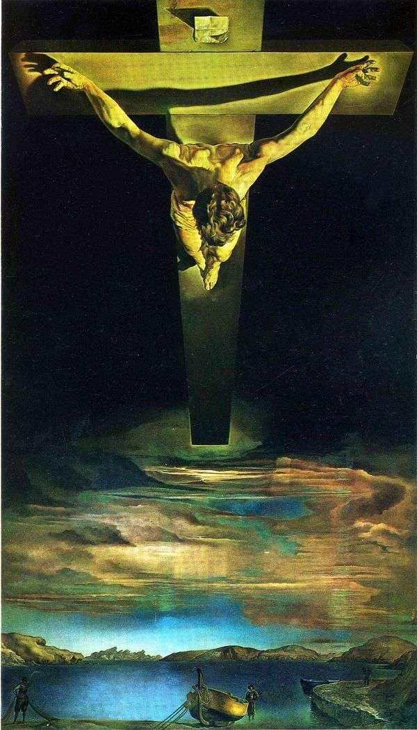 Svのキリスト 十字架のヨハネ   サルバドール・ダリ