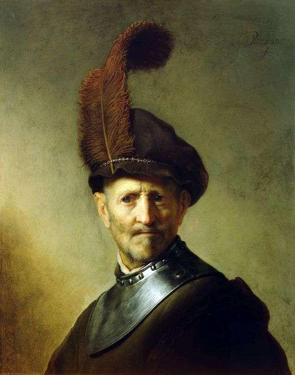 レンブラント・ハーメンス・ヴァンライン   旧戦士の肖像