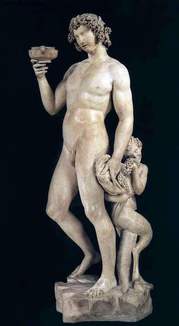 バッカス(彫刻)   ミケランジェロ・ブオナローティ