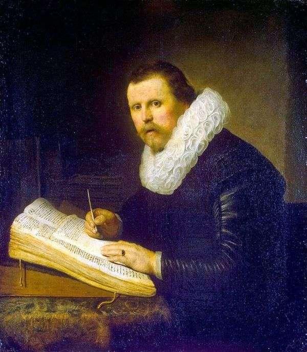 科学者   レンブラント・ハーメンス・ヴァン・ラインの肖像