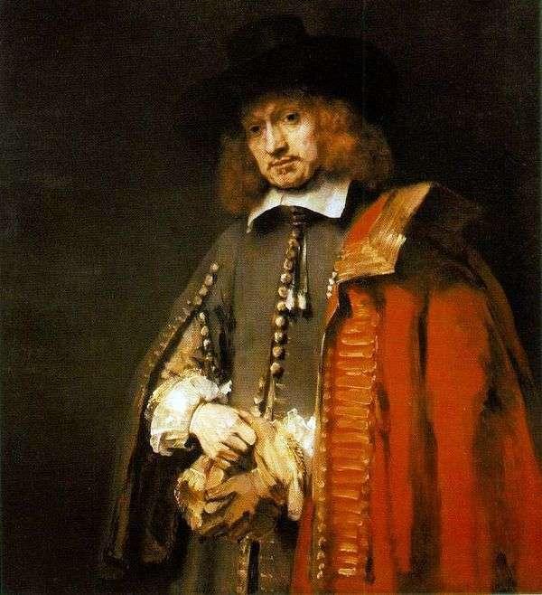 Jan Sixs   レンブラント・ハーメンス・ヴァン・ラインの肖像