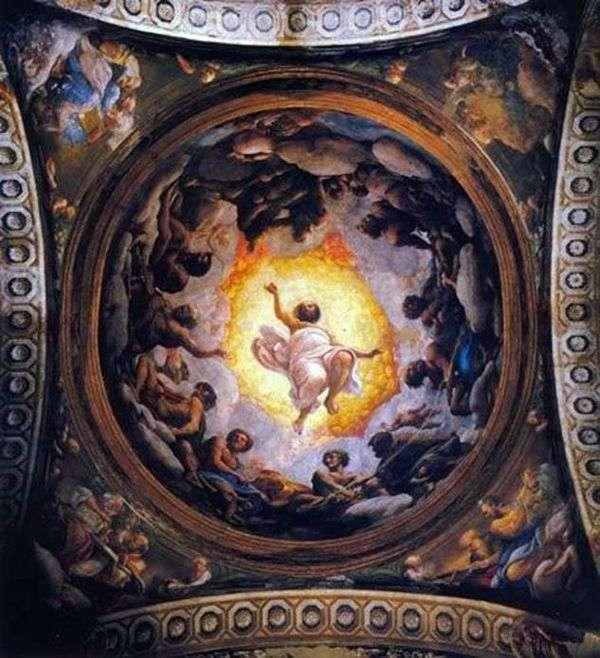 パトモスの神聖なるジョンのビジョン   コレッジョ(Antonio Allegri)