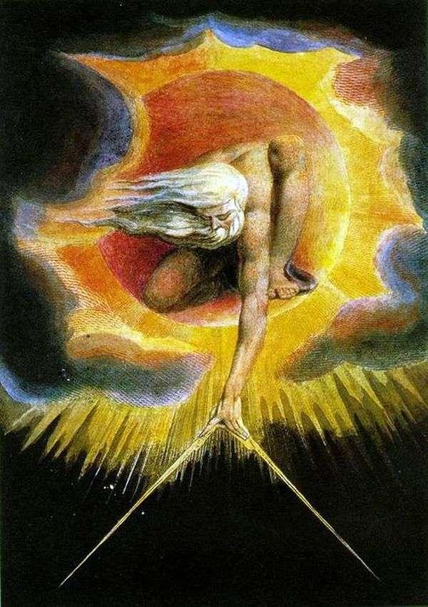 グレートアーキテクト(創造)   William Blake