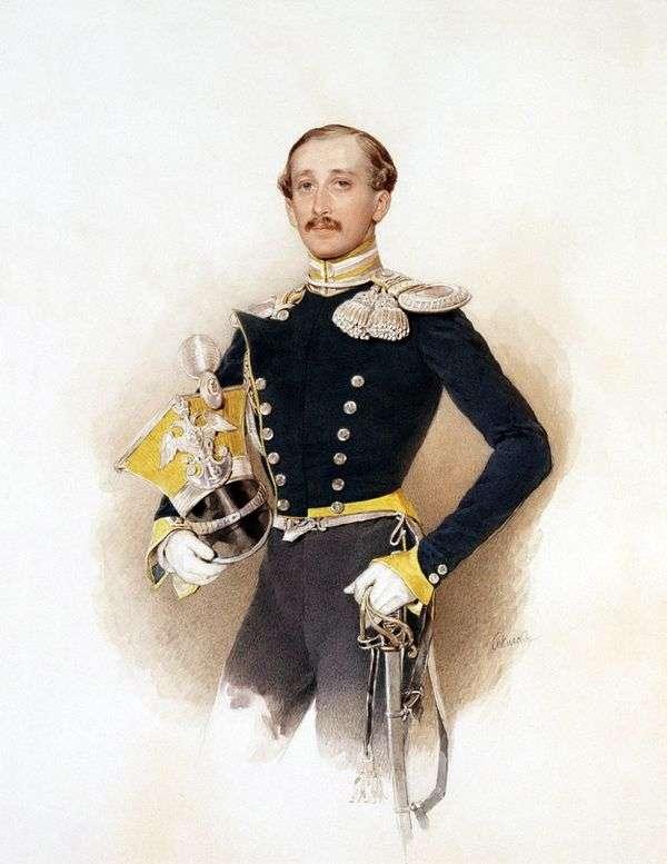 A. V. Veliyashevの肖像   ピーター・ソコロフ