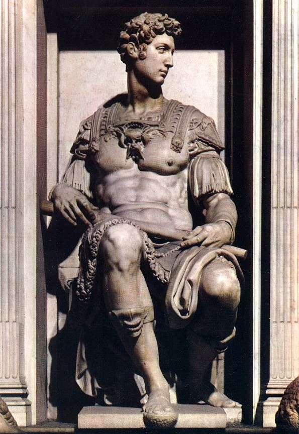 Giuliano Medici   ミケランジェロ・ブオナロッティ