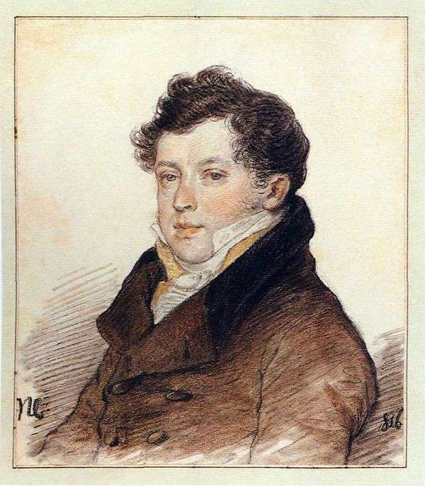 A. I. Turgenevの肖像   ピーター・ソコロフ