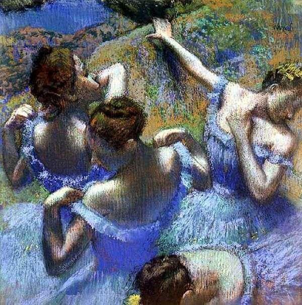 ブルーダンサー   Edgar Degas