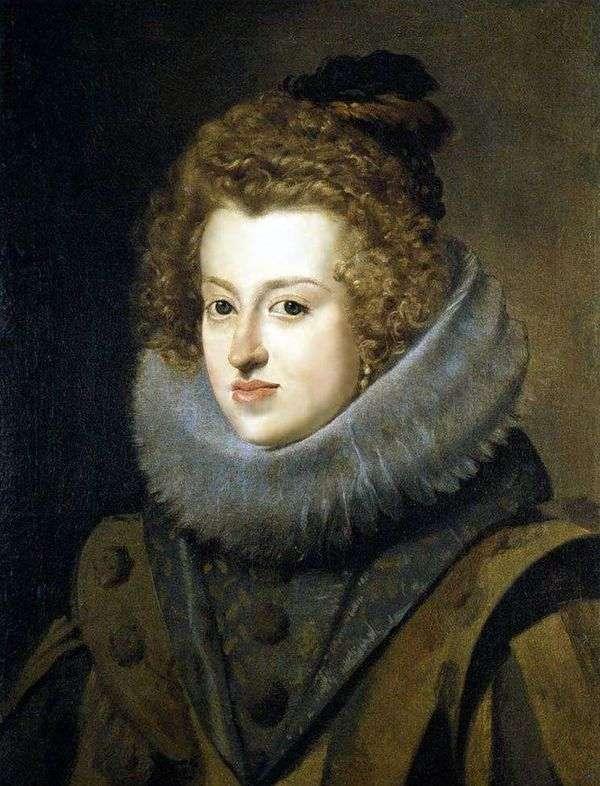 Infanta Maria Anna、ハンガリーの女王   ディエゴベラスケス