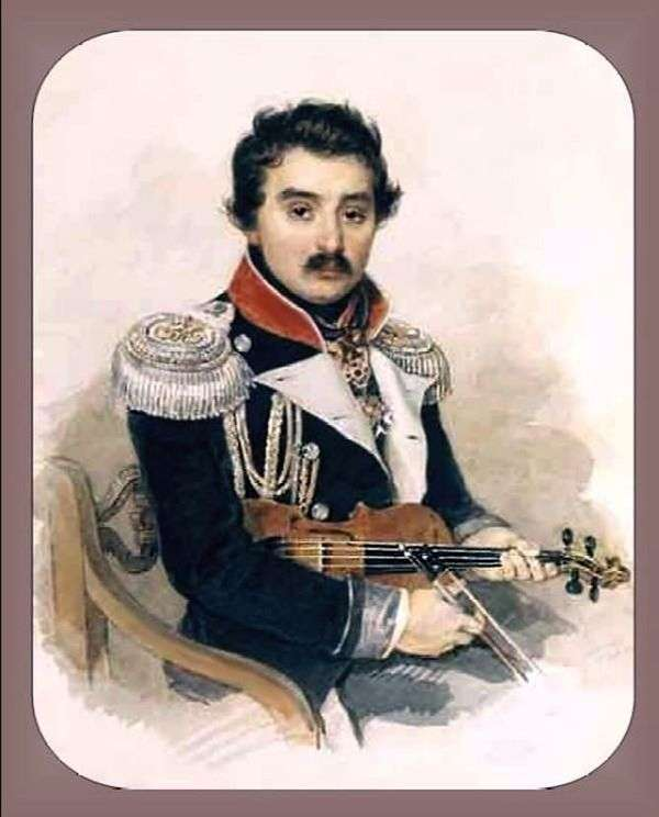 A. F. Lvovの肖像   Peter Sokolov