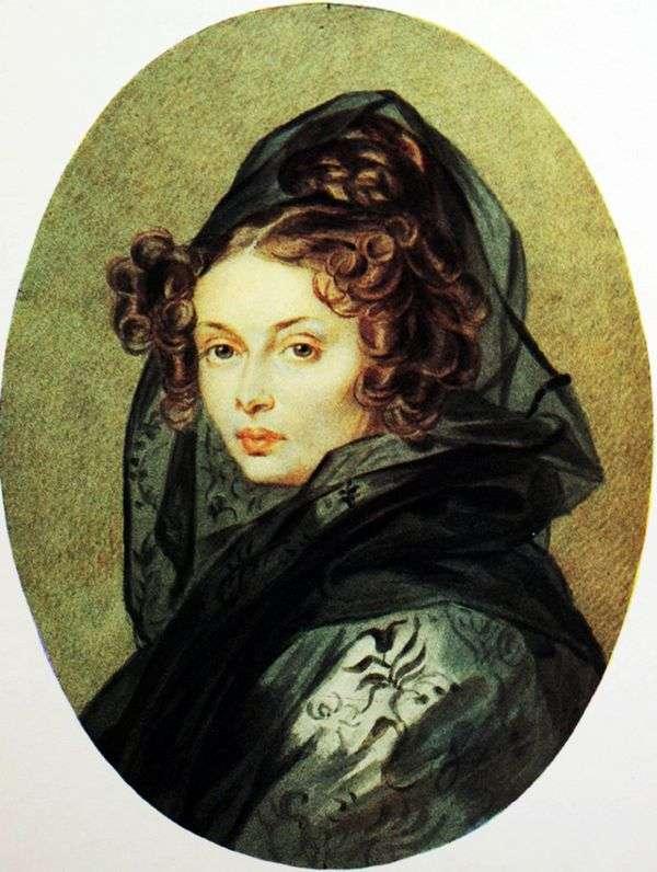 アレクサンドラG. Muravyovaの肖像   Peter Sokolov