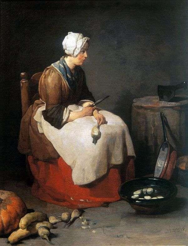クッキングクリーニングスウェーデン   Jean Baptiste Chardin