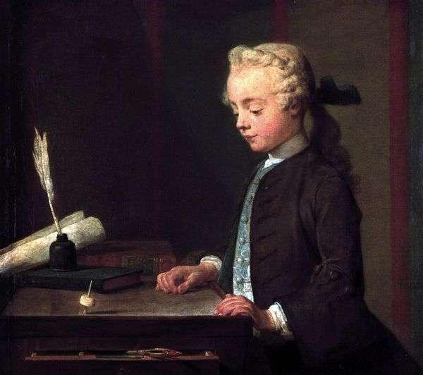 ユールの少年   Jean Baptiste Simeon Chardin