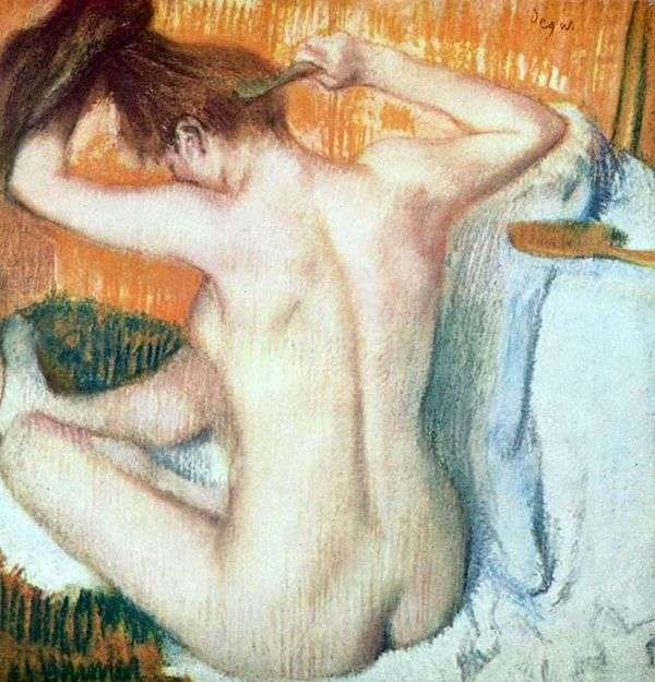 トイレの女   Edgar Degas
