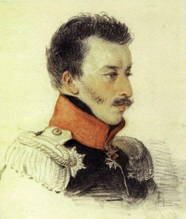 Volkonsky S. Gの肖像   ピーター・ソコロフ