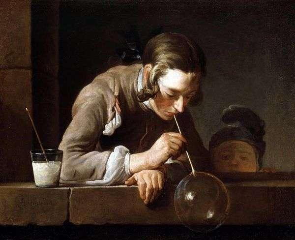 シャボン玉   Jean Baptiste Chardin