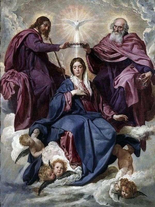聖母の戴冠式   ディエゴ・ベラスケス