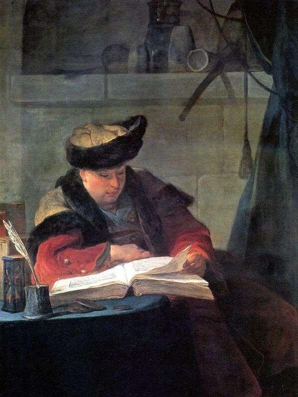 アーティストJoseph Avedの肖像   Jean Baptiste Simeon Chardin