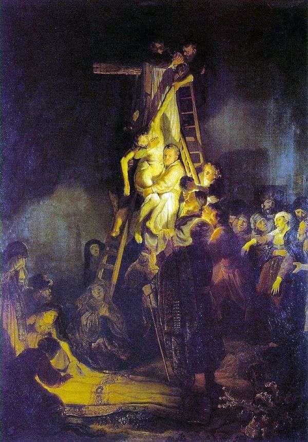 十字架からの降下   レンブラント・ハーメンス・ヴァン・ライン