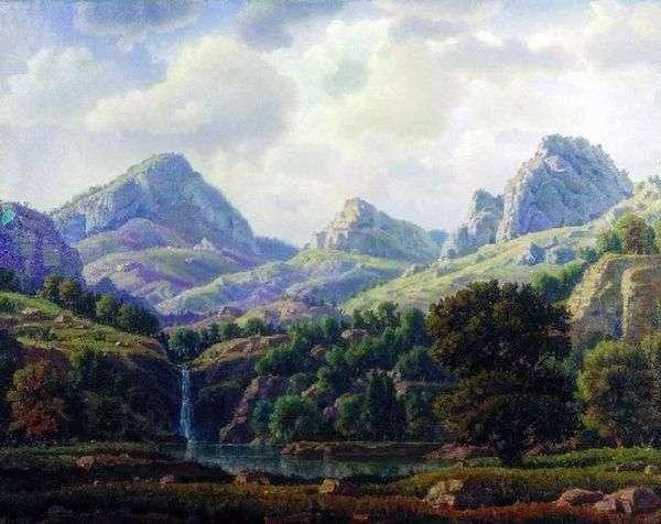 山の風景   コンスタンティン・ボガエフスキー