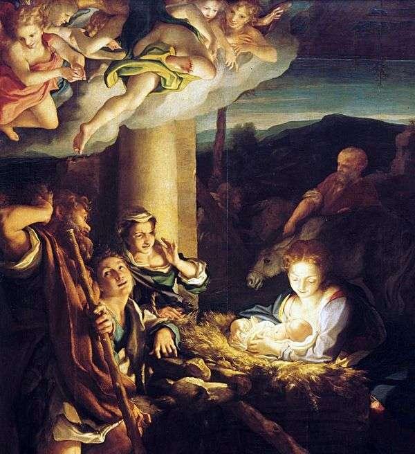 クリスマス(夜)   コレッジョ(Antonio Allegri)