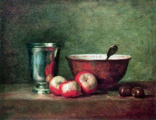 シルバーカップ   Jean Baptiste Chardin