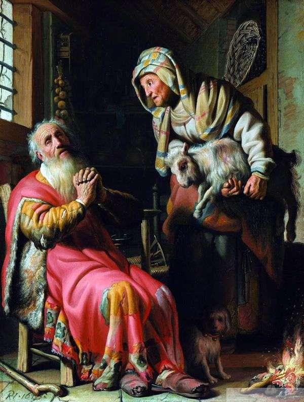 彼の妻を盗んでいると思わないでください   Rembrandt Harmens Van Rhine