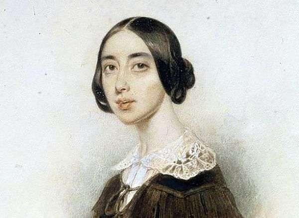 歌手Pauline Viardot   Peter Sokolovの肖像画