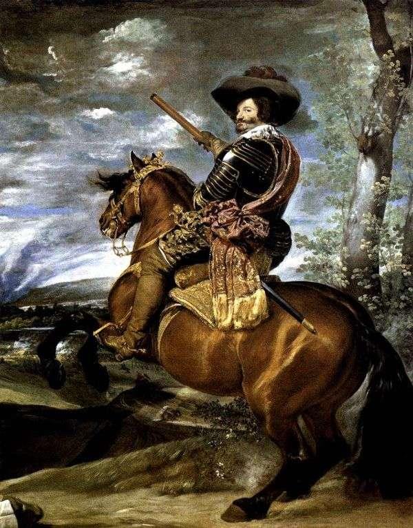オリバレス伯爵の肖像   ディエゴベラスケス