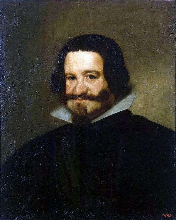 オリバレス伯爵の肖像   Diego de Silva Velasquez