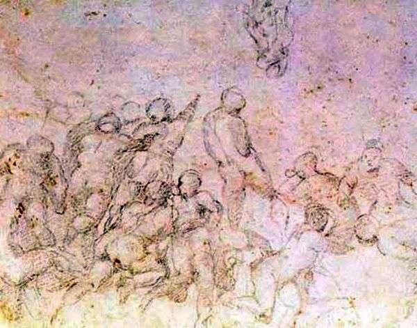 映画「カシンの戦い」   ミケランジェロ・ブオナローティの準備研究